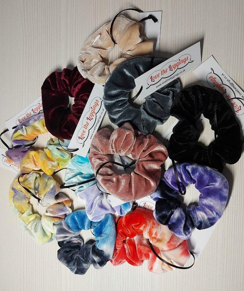 Stash Scrunchies.  Hair scrunchies with hidden zip storage. image 0