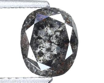0.28 Ct Natural Salt And Pepper Diamond Shape Transparent Diamond C119