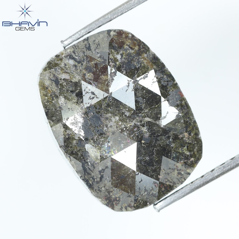 5.94 CT  Cushion Brown Red Natural loose Diamond For Engagement Ring and Wedding Ring Sku:N24SC-1