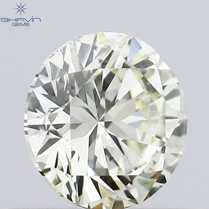 O-P Color Diamond VS2 Clarity For Engagement,Wedding Ring 4.68 MM Sku:39522-180 IGI Certified 0.40 CT Round Natural White