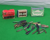 Collection of Vintage Pen Nibs - Myers - Esterbrook - Thomas Hope - Heintze others