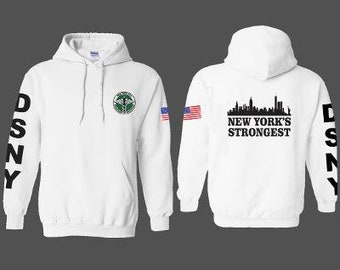 NYC NEW YORK TOURIST TRAVEL VACATION CITY HIP HOP Mens Navy Hoodie