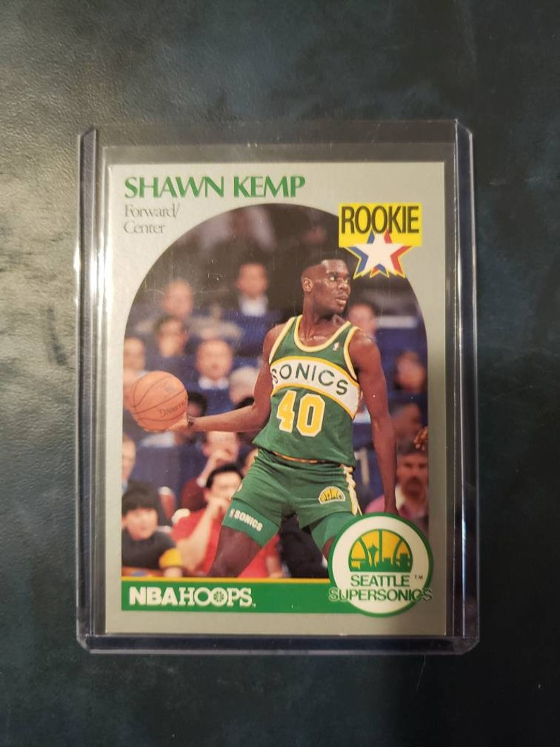 1990 Nba Hoops Shawn Kemp Rookie Card 279