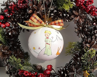 Prince Christmas Decorations.The Little Prince Ornament Etsy