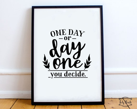 I Decide My Vibe Motivational Inspirational Quote Poster Print Wall Art