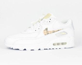 Nike Air Max 90 Premium Womens Cool GreyIvory Shoes UK