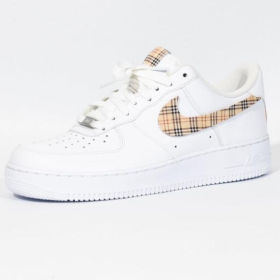 Nike Air Force 1 Custom 'Plaids