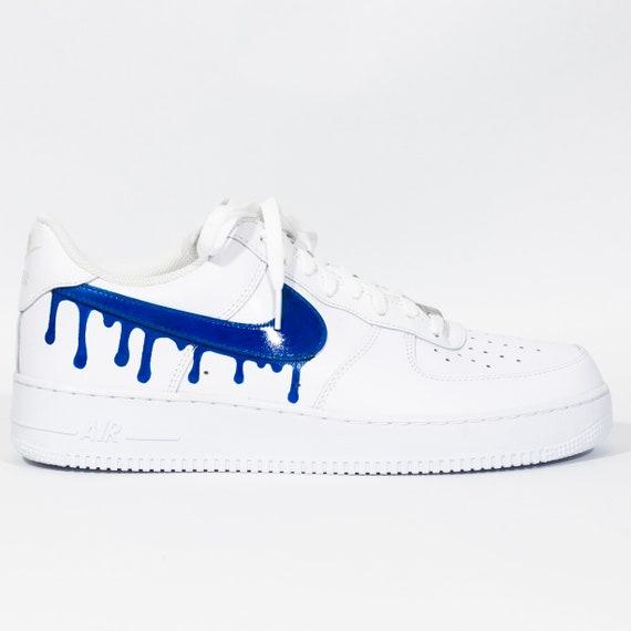 air force 1 blu e bianche