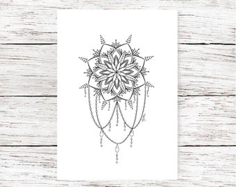 picture about Legend of the Dreamcatcher Printable known as Shade dreamcatcher Etsy