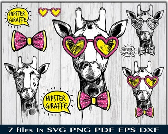 Giraffe Face Svg Mandala Intricate Svg Cut Files Etsy