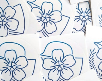 12 Spring Stickers