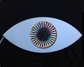 Clockwork Eye, Color Changing Kinetic Light Sculpture