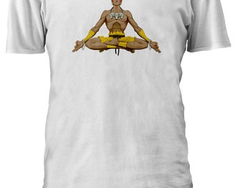 STREET FIGHTER DHALSIM MEDITATION YOGA INDIAN Men Women Unisex T-shirt 993