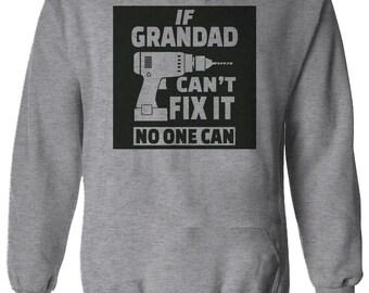 38ae09f147940 Si grand-père ne peut pas fixer son anniversaire papa Papa Père Pères  Sweatshirt Sweatshirt Jumper Hommes Hommes Unisex 2900