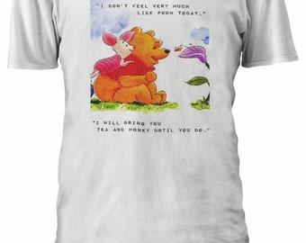 941cc4060 Disney Winnie The Pooh Tigger Cute T-Shirt Unisex Men Women Tshirt Vest  Tank Oversized 329