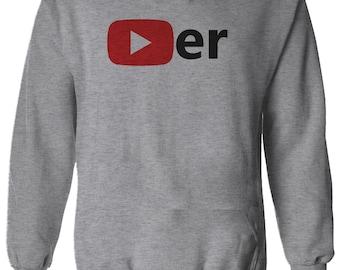 Funny YOUTUBER Fan Tee Top Youtube Player G Men Women Unisex T-shirt 2897
