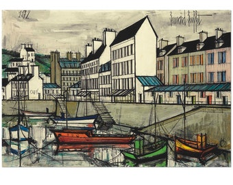 Awesome Bernard Buffet Etsy Home Interior And Landscaping Ologienasavecom