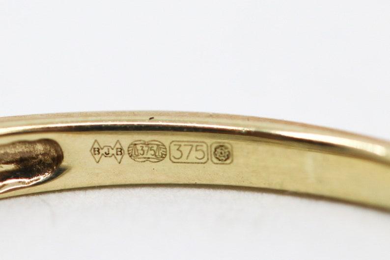 Lovely Pre-owned Triple Cluster Diamond Ring Dress Ring Engagement Ring Promise Ring Anniversary