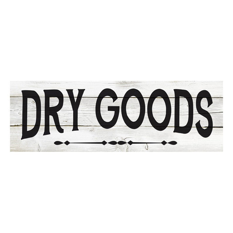 Grocery Store Mercantile Chic White Farmhouse Wood Sign Wall B3-06180028136