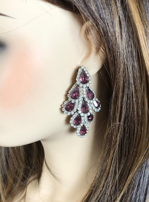 Stunning Vintage Chandelier Earrings