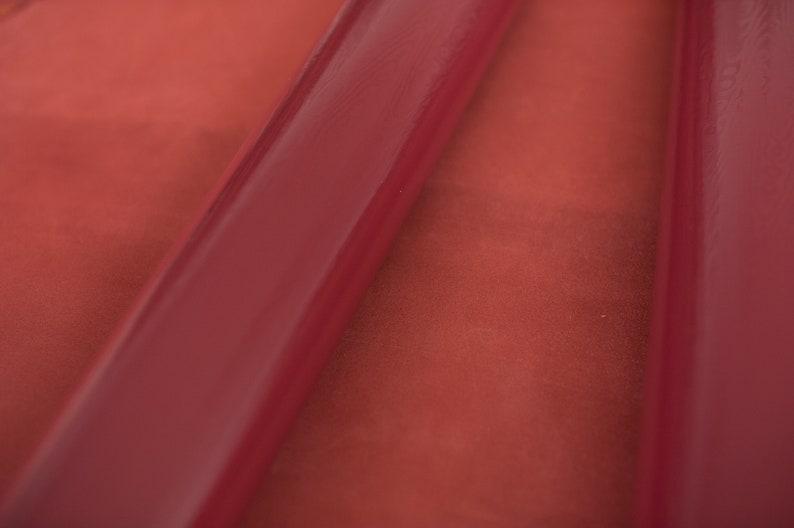 Mobile in pink macram\u00e9