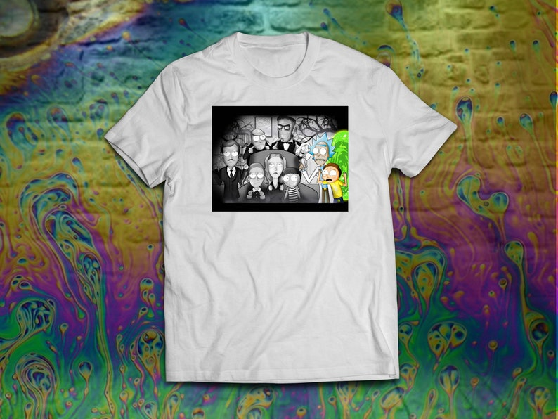 Rick and Morty/'s Adams Family T-Shirt