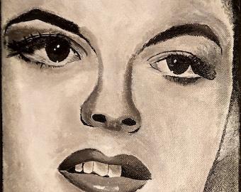"Acrylic painting on canvas-""Judy 1"""