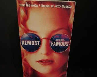 Almost Famous - VHS Tape with Kate Hudson