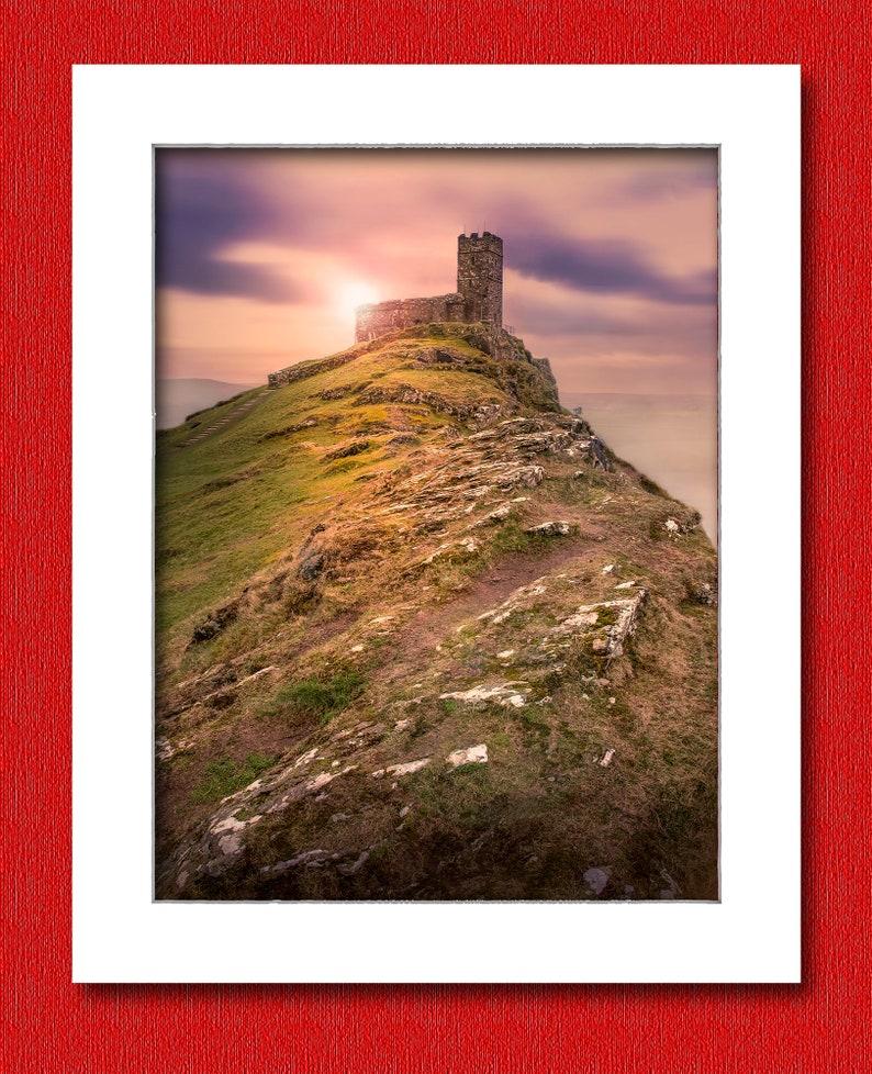 St Michael De Rupe Church Brentor Dartmoor Devon UK. image 0