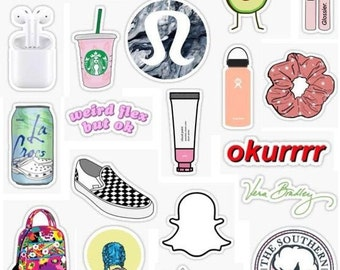 Vsco Sticker Pack Etsy
