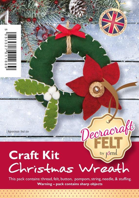 Snowman Christmas Decracraft Felt Craft Kit