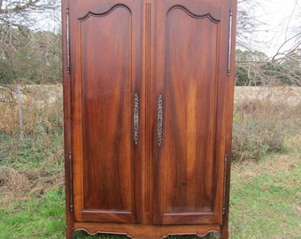 Amazing Chestnut Vintage French 2 door Armoire Wardrobe FREE SHIPPING !! JUNE!!