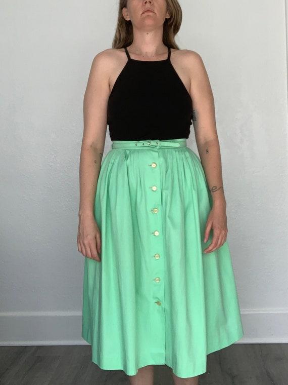 Beautiful 1950's skirt with matching belt