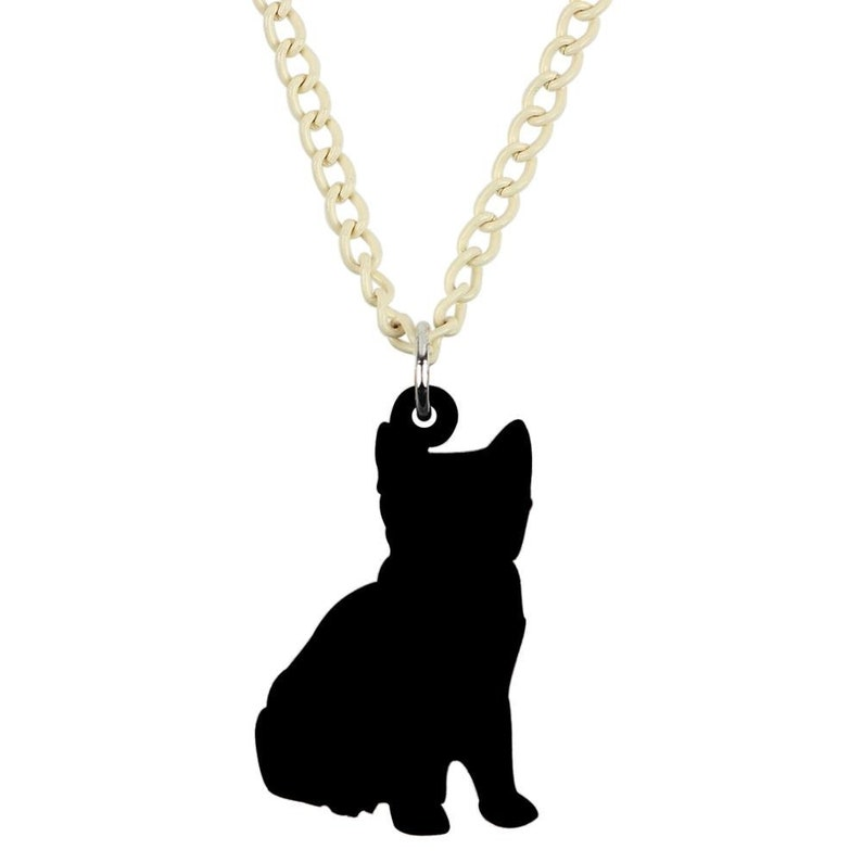 Acrylic Cute Striped Cat Pendant Necklace Chain Choker Pet Jewelry For Women Girls Lovers Party Charms Lots Gifts  Free P/&P Worldwide