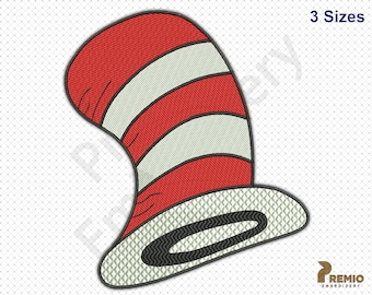 Hat Embroidery Designs Dr Seuss The Cat In The Hat Embroidery Design Dr Seuss Embroidery Design Teacher Of All Things Embroidery Design