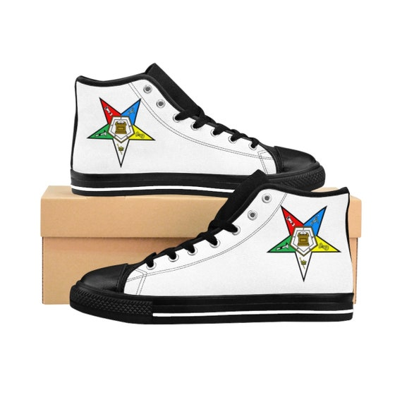 1d78908b91e89 High Top Sneakers (Women's Shoes) - OES / Order of the Eastern Star