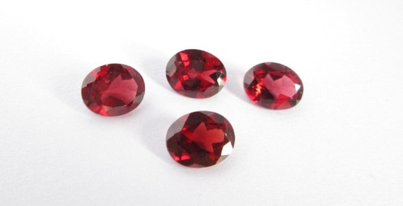 8x10 mm Natural garnet oval cut loose gemstone  garnet oval AAA Quality