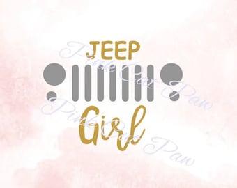 Jeep girl svg | Etsy