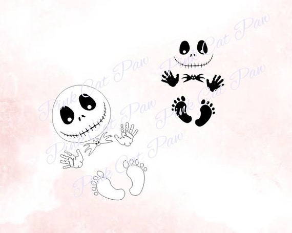 Jack Baby Svg Maternity Svg Baby Svg Nightmare Before Etsy