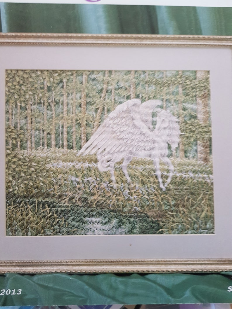 clean and unmarked. Teresa wentzler   PEGASUS   RARE cross stitch chart Excellent condition