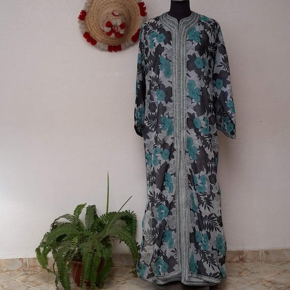 Moroccan Kaftan,Vintage Moroccan Luxury Caftan Kaf