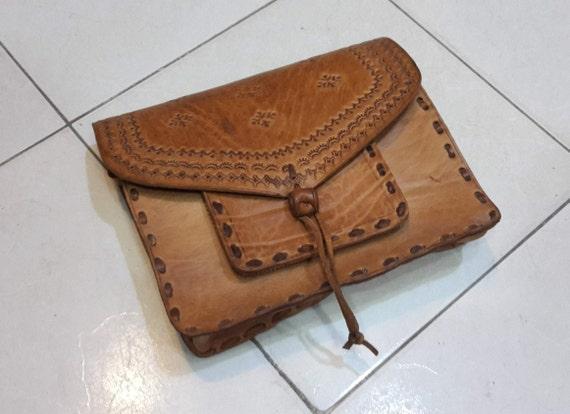 Vintage Messenger Bag,Leather Moroccan Bag,Messeng