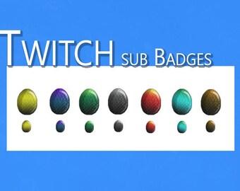 Sub badge | Etsy