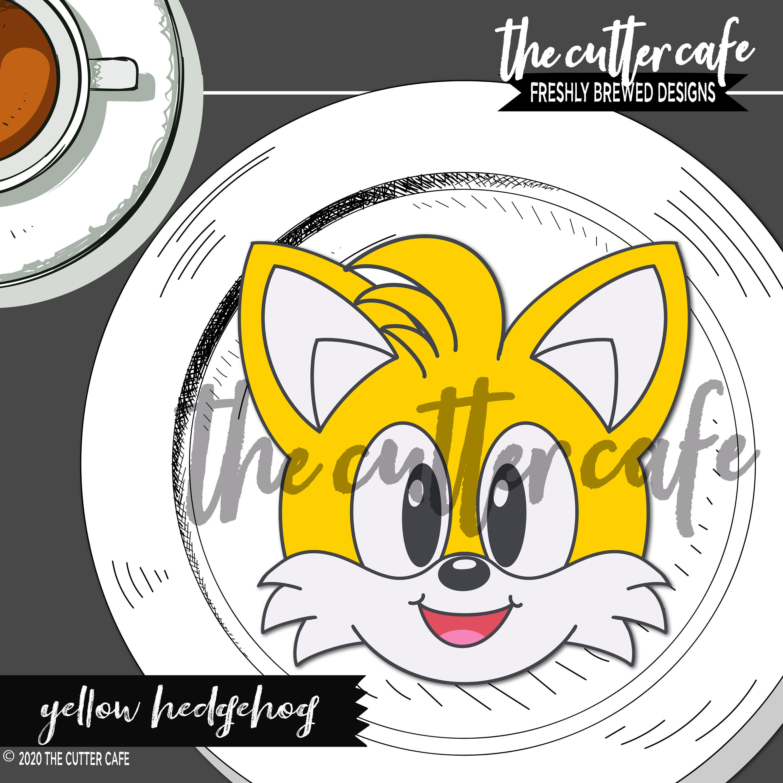 Speedy Hedgehog Coin  Gamer Cookie Cutter by thecuttercafe