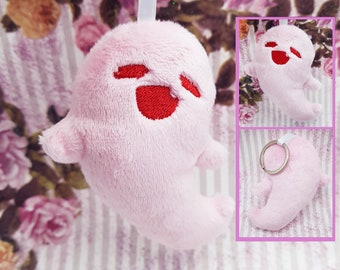 Hu Tao's Ghost Plush Keychain