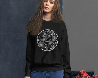 Cyclops Copepod: Unisex Sweatshirt