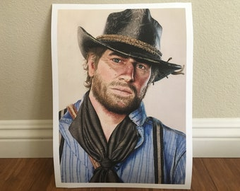 Red dead redemption 2 | Etsy
