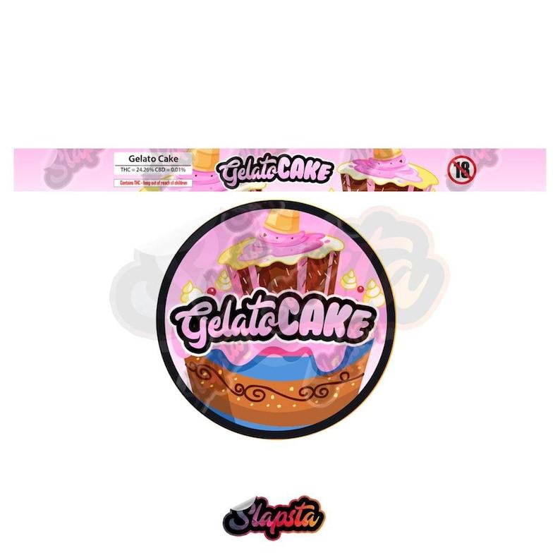Gelato Cake Pressitin Strain Labels