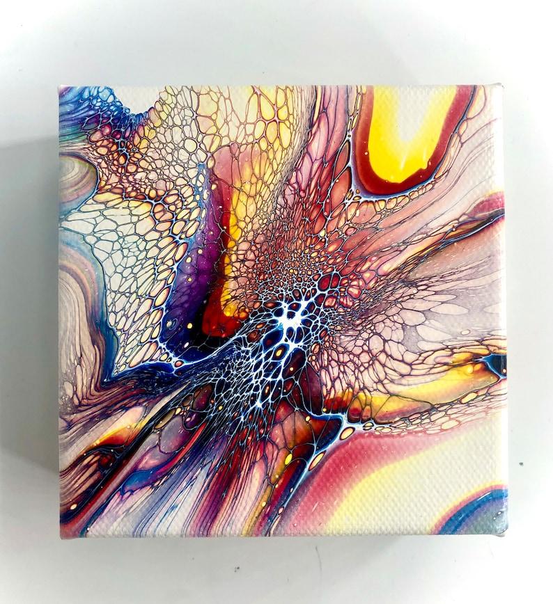 Set of 2 \u201cinterstellar\u201d Mini art canvas