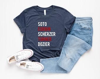 buy online b41d8 4ce04 Washington nationals shirt | Etsy